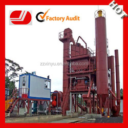 Top quality level cheap price LB1500 government road asphalt plant price