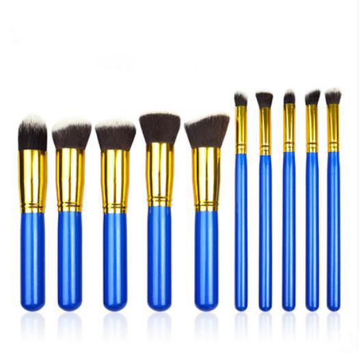 10pcs High Quality professional makeup brush set
