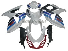 Injection Fairings For Suzuki GSXR1000 K9 09 -12 Year 2009 2010 2011 2012 Plastics ABS Motorcycle Fairing Kit for Suzuki White