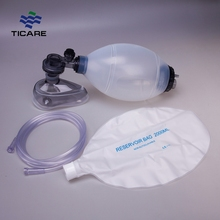 Silicone Manual Oxygen Resuscitator Function Of Ambu Bag
