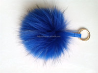 fur ball key chain raccoon dog fur balls cute raccoon fur pom poms