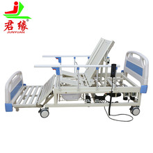 2018 new products manual electric hospital furniture medical equipment nursing bed patient sick bed home care with table toilet
