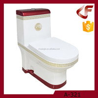Good quality China wholesale sanitary wares washdown one-piece toilets