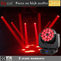 2017 Chinese new 4in1 rgbw18x 15w 4in1 led zoom wash moving head lighting for stage