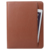 Zippered Closure Professional Interview Leather Padfolio with 6000mah Power Bank