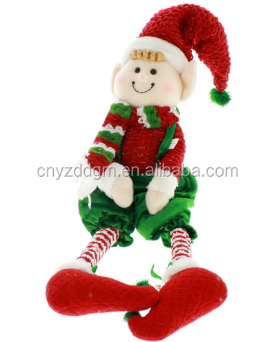 plush Christmas long leg elf toy /christmas ornaments stuffed elf dolls/Christmas tree decoration stuffed toys