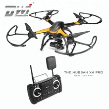DWI Dowellin Hubsan H109S X4 Pro 5.8G Real Time FPV RC Quadcopter With camera