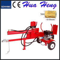 New design 42ton mechanical 13HP diesel engine Wood splitters with CE
