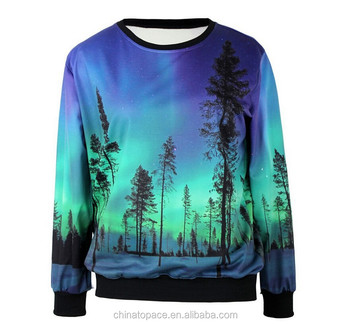 Unisex winter spring custom all over sublimation printing sweatshirt 3d hoodies