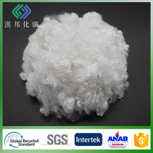 polyester staple fiber 3D hollow conjugated non silicon semi virgin