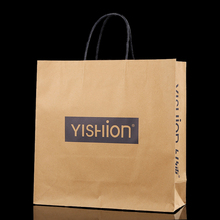 Excellent quality low price recyclable customized grocery brown kraft paper bag