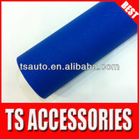 TSAUTOP RoHS certificate 1.52*30m air Free bubbles matte brilliant diaond blue car tuning