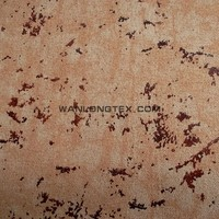 Washable Polyester Suede Table Cloth Fabric