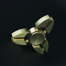 2017 Time Killer Bearing Brass Hand Spinner flash spinning top