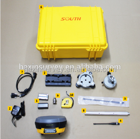 Professional integarted surveying system South S82 gnss RTK
