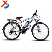 "Manufacturer selling 350W 500W 750W 26"" strong MTB exercise dirt electric bike with 21 speed gears"