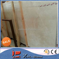 Promotion Beige Polished Crema Marfil Marble Slab Price With High Quality