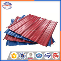zinc coated corrugated steel sheet galvanized metal roofing price