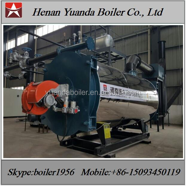 Oil gas fired 2000kw Hot oil boiler for sale