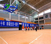 Indoor Basketball court Wood flooring for sale