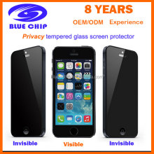 9H 0.33MM Privacy Tempered Glass Screen Protector for Iphone 5 /5S/5C