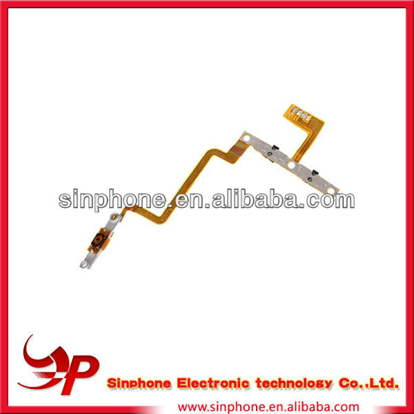 OEM Repair parts Volume power switch and home button flex cable for iPod touch 4