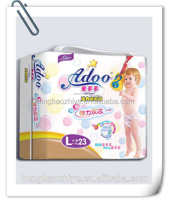 Breathable Disposable Sleepy Baby Diaper Manufacturer In ChinaFactory price high quality customrized nice baby disposable diaper