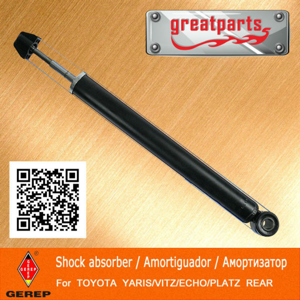 High quality rear Gas shock absorber for TOYOTA YARIS/VITZ/ECHO/PLATZ 4853059166 4853059167