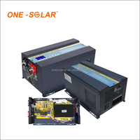 3KW 4KVA 12V 24V 48V Pure Sine Wave 3000W 5KVA DC to AC Solar Power Inverter Hybrid with MPPT Solar Charge Controller AC Charger