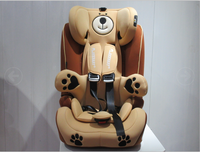 Awesome bear edition children motor seat car kid salon chair for your choice