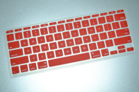 Coloured Cheap Silicone Keyboard Cover Skins