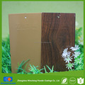 Heat Transfer wood effect base sublimation powder coating