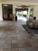 natural cheap exterior patio slate tile paver stones for sale