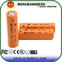 New power MNKE 18650 original 1500mAh li ion battery 3.7V rechargeable 18650 Lithium