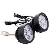 Electric vehicle jet lamp motorcycle ultra bright LED headlamp rear-view mirror, 12V80V modified exterior bulb