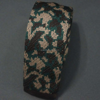 patterned mens silk knit tie with best tie brands