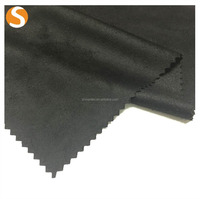 hot sell 100% polyester imitated suede fabric