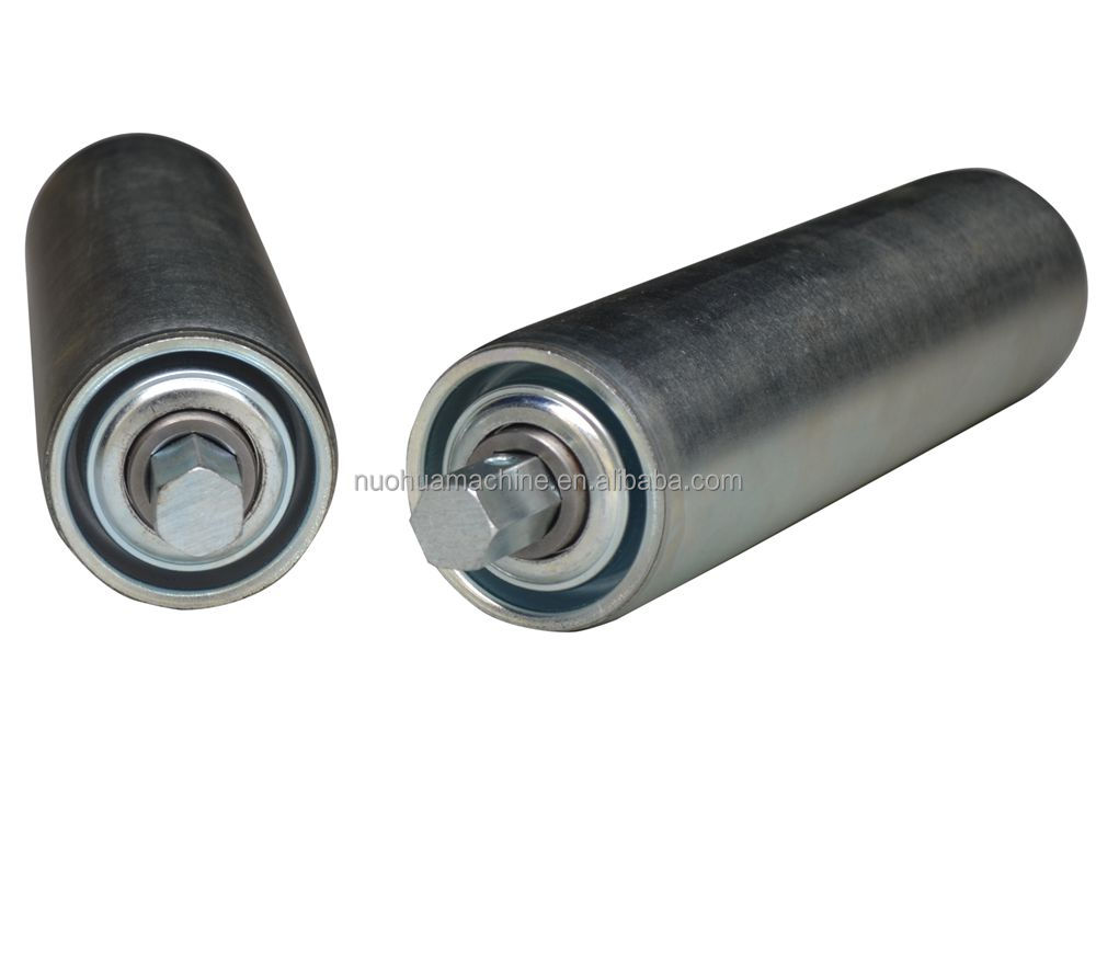 gravity galvanized conveyor roller for GSE