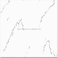 snow white inner wall ceramic tiles floor 60x60cm , polished wall tile bathroom