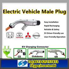 SETEC ev DC charging connector CHAdeMo for electric car