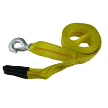 "2"" X 15FT,5000 Lbs Heavy Duty Winch Recovery Tow Strap for Vehicle Towing"