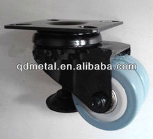 Caster wheel with leveling feet china manufacturer