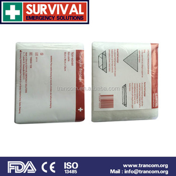 Survival bandage Triangular bandage no-woven 1038
