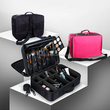 Wholesale large capacity professional makeup bag fashion cosmetic bags waterproof cosmetic case