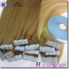 Grade 7A Smoother Virgin Remy Hair Best Price For Wholesale Hair Blue Tape Waterproof Great Lengths Hair Extensions Tape
