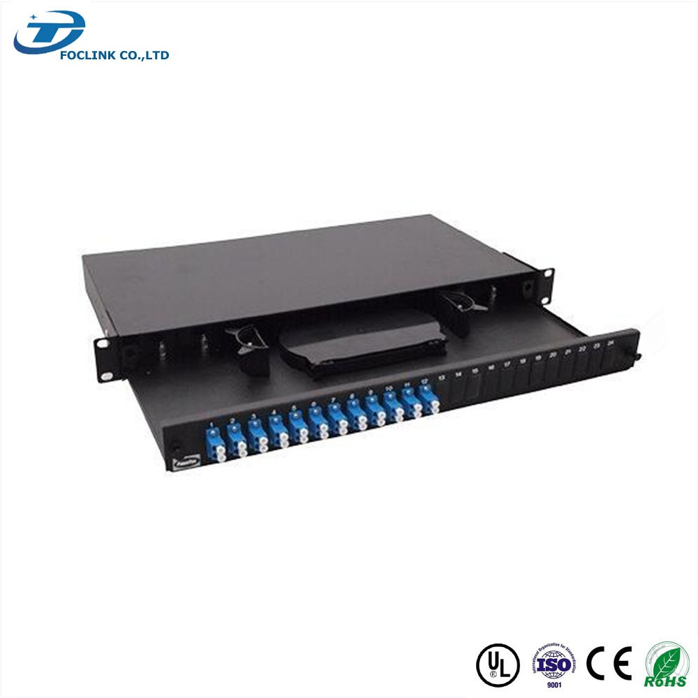 Telecommunication 19 Inch 1U 2U Rack