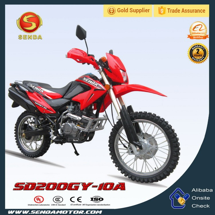 High Quality CRF 200CC Dirt Bike Off-road Enduro Motorcycle for Sale Hyperbiz SD200GY-10A