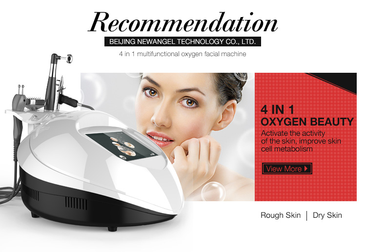 Hot selling bio oxygen jet peel oxygen therapy facial machine korea