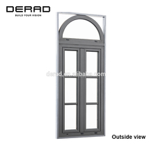 Australian Standard Non Thermal Break Aluminium Clad Wood Windows