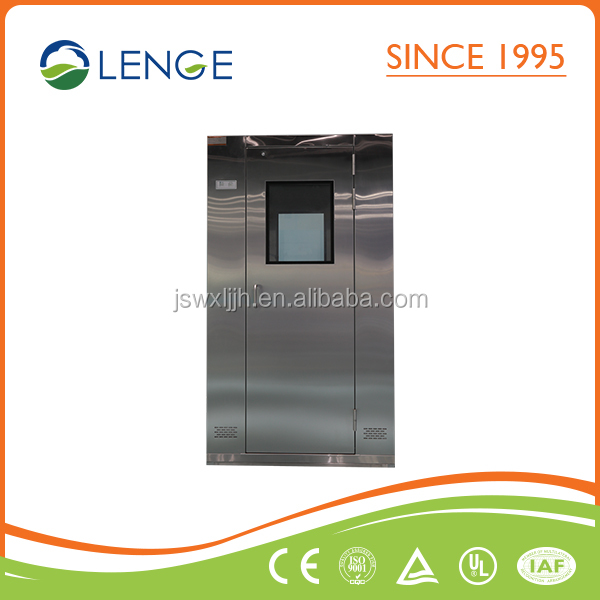 Double Person Automatic Door Air shower Manufacturer